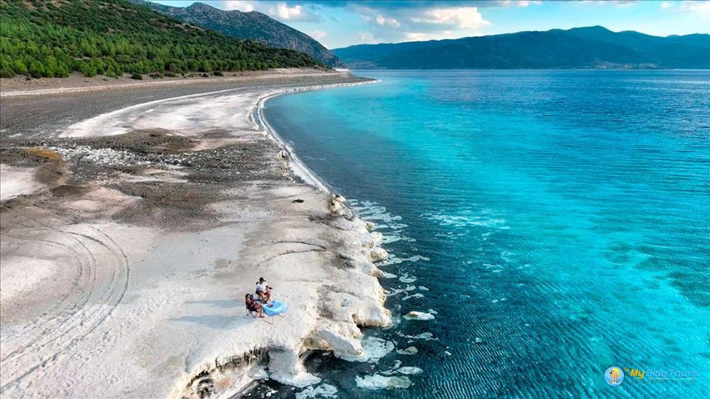 Турецкие Мальдивы из Сиде: Памуккале и озеро Салда