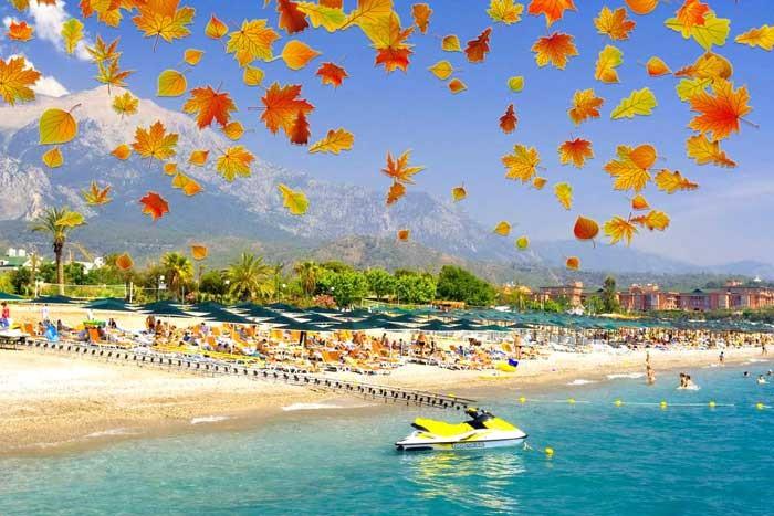 Экскурсии в Сиде осенью