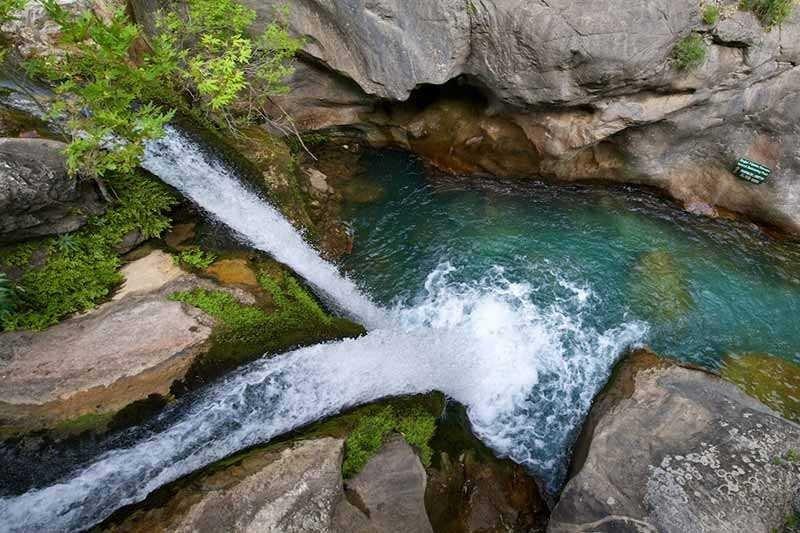 Sapadere waterfall
