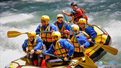 Buggy safari and Rafting
