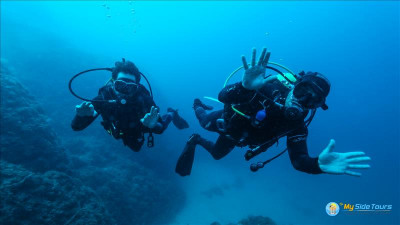 Diving in Side