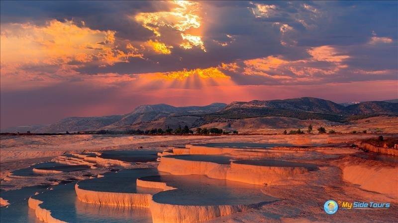 Памуккале и озеро Салда