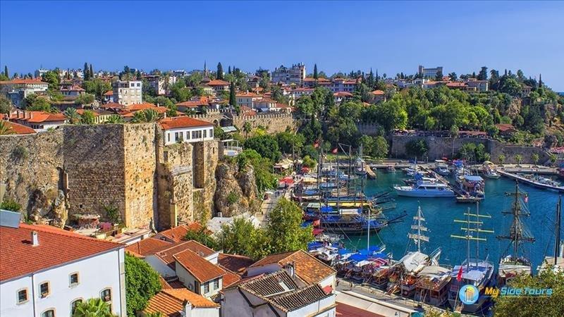 Antalya from Side